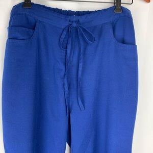 Grey's Anatomy blue scrub pants, size small